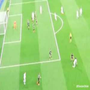 Toni Kroos was offside before his penalty