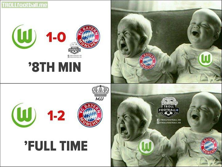 Bayern Munich and Wolfsburg Fans Be Like😂🔥 MJJ