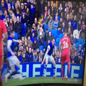 Great save by Sheffield Wednesday goalkeeper Cameron Dawson