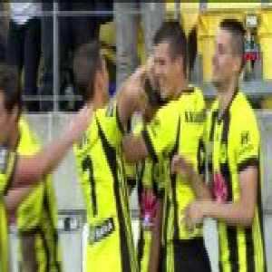 Sarpreet Singh [Wellington Phoenix] goal vs Perth Glory [1-0]