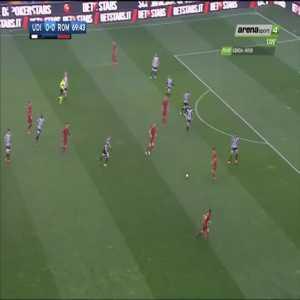 Udinese 0-1 Roma - Cengiz Ünder - All angles