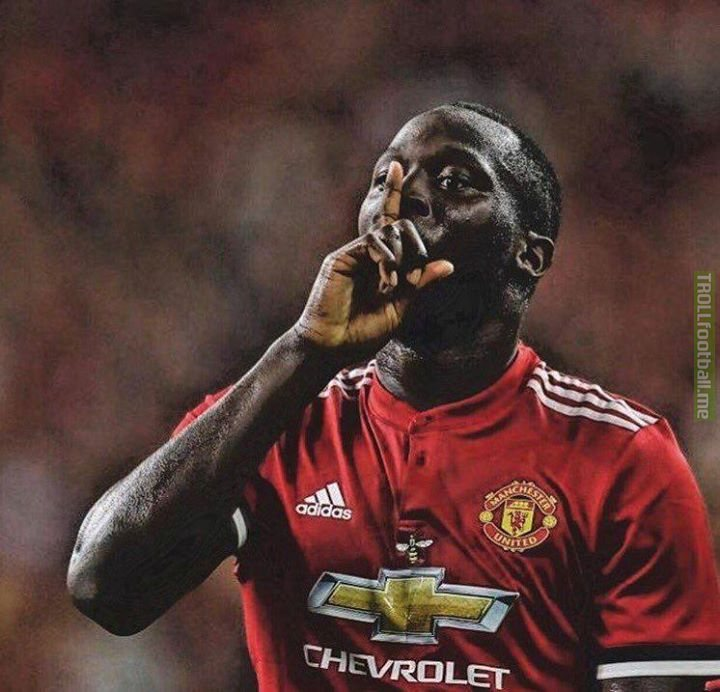 Goals Scored This Season : 🔴 Romelu 'the Flop' Lukaku : 21 🔵 Morata + 🔴 Lacazette : 21