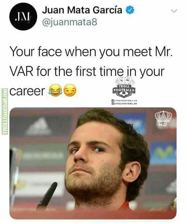 Juan Mata 😂 MJJ