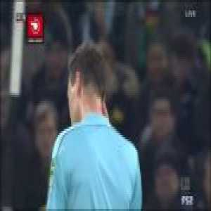 Monchengladbach 0-1 Dortmund: Hofmann Goal Reversed by VAR for Offside