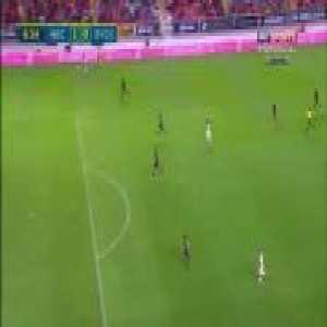Necaxa 1-0 Monterrey - Carlos Gabriel González 5'