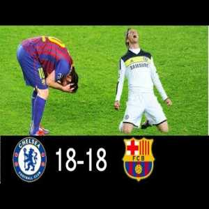 Chelsea 18-18 Barcelona | All Champions League Goals Against Each Other