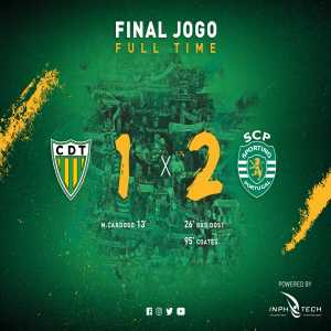 Sporting CP scored a 90+8th after the referee adds 4 minutes to regular time to win vs Tondela, their twitter account procedes to claim the goal was scored in the .... 95th minute.
