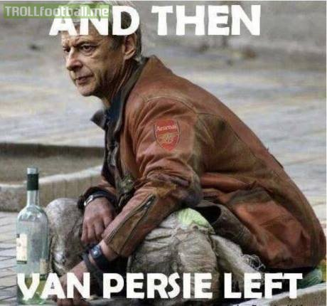 tb to when van persie left arsenal for man utd
