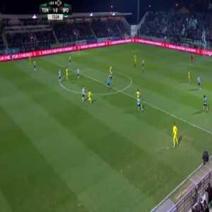 Tondela [1]-0 Sporting CP — Miguel Cardoso 12'