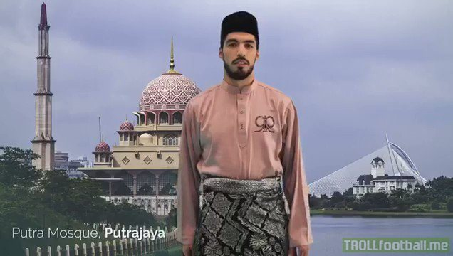 What's the worst thing you did for money? Luis Suarez, Malaysia's tourism ambassador.