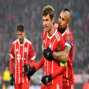 Bayern have won their 14th consecutive match in all competitions, equaling their longest winning streak of all-time (from 1980).