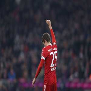 Bayern Munich are previously unbeaten in their last 61 competitive matches that Thomas Müller has scored in (W58 D3).