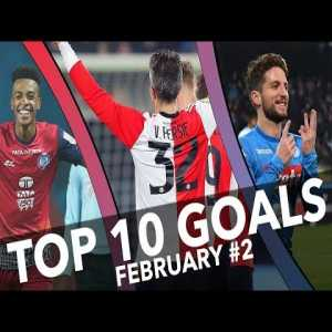 [OC] Top 10 Goals of the Week (5-11 February)