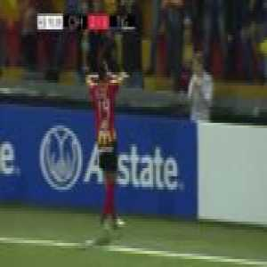 Club Sport Herediano (Costa Rica) scores dramatic goal in stoppage time vs. Tigres (Mexico) to earn a 2-2 draw in the first leg of CONCACAF Champions League Round of 16