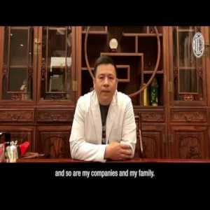 Li Yonghong defends himself in official Milan channel