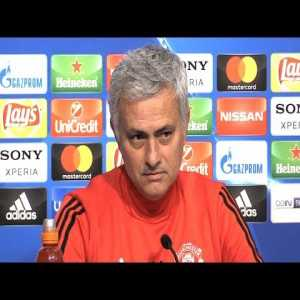 "Reporter: ""You are back in the country [Spain] where you won lots of trophies."" Mourinho: ""Only 3."""