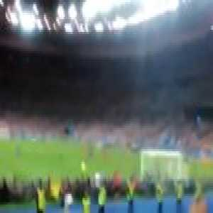 Since fan perspective videos are liked... Éder's goal in the Euro 2016 final as filmed from the Portugal stand