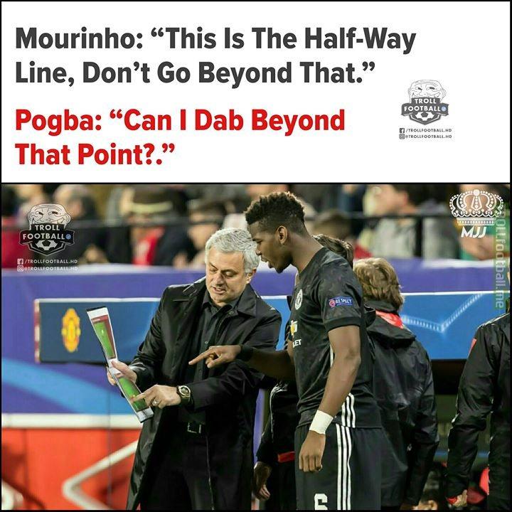 Leaked Conversation B/w Mourinho and Pogba!😂😂 MJJ