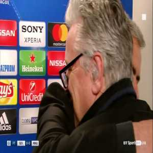 """[Video] Mourinho says """"Can I hug you?"""" to reporter who asks about McTominay instead of Pogba"""