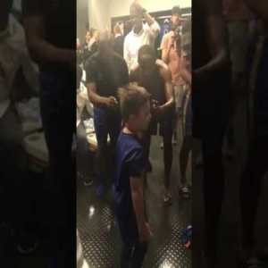 7 y.o Mateo leading Cape Town City FC players in song
