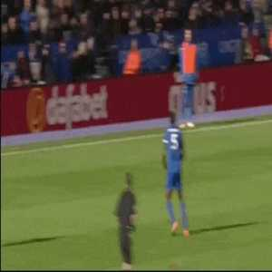 Charlie Adams challenge on Wes Morgan (no card given)