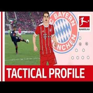 James at his best at Bayern Munich - Bundesliga Official ft Tifo Football
