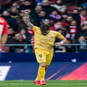 Portu (Girona FC) is the only player to score against Barcelona, Atletico and Real Madrid in La Liga this season.