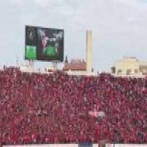 Wydad Casablanca fans today vs TP Mazembe.