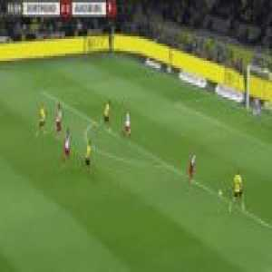 Marco Reus mimicking Mane, Firmino and Coutinho's celebration.