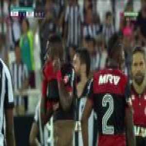 Vinícius Júnior (Flamengo) red card vs. Botafogo [Campeonato Carioca]