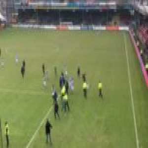 Go Ahead Eagles - De Graafschap, home fans attacked De Graafschap ...