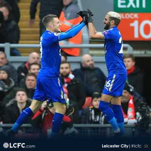 38 goals/assists betweem the duo of Vardy and Mahrez this season.