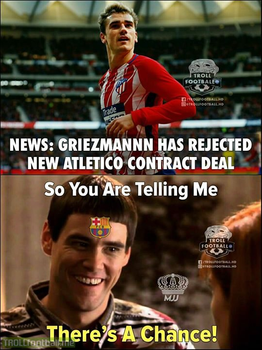 Griezmannn To FC Barcelona? MJJ