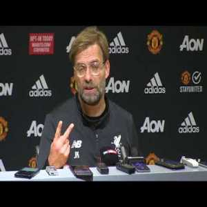 """Klopp: """"When we came here last time, United score an offside goal"""""""