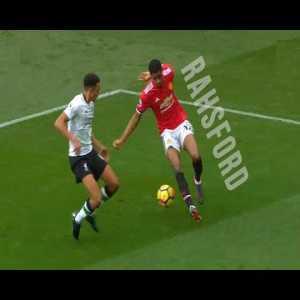 Marcus Rashford sublime speed and skills (Liverpool edit)