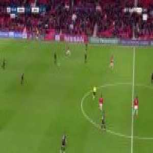 N'Zonzi skill puts Martial on the floor