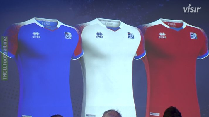 Icelands kits for WC 2018