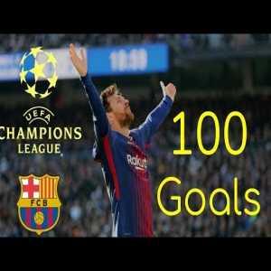 Lionel Messi - All 100 Champions League Goals