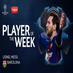 Champions League Player of the Week: Lionel Messi