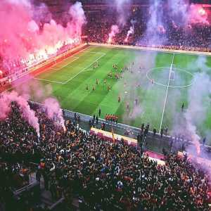 Galatasaray had its last training before the derby game in front of its fans, here is the result.