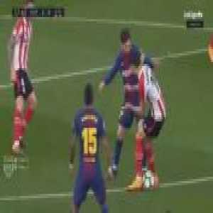 Messi nutmeg today against Athletico Bilbao