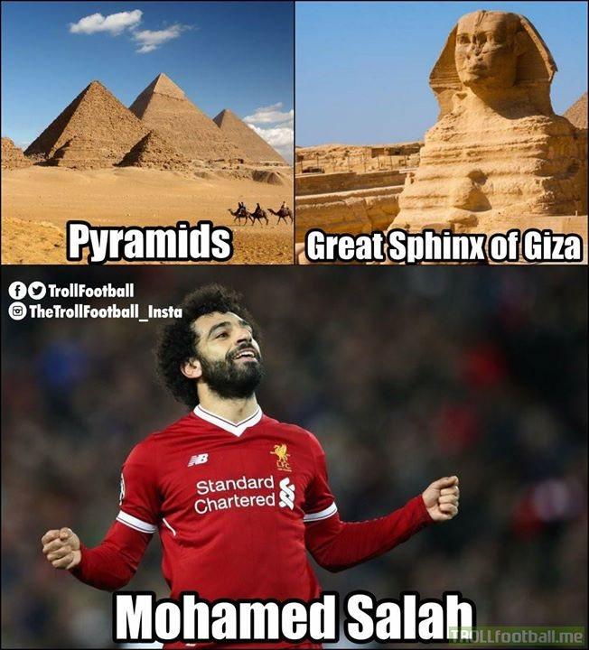 The three wonders of Egypt...