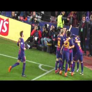 UEFA Champions League 14.3.2018: FC Barcelona - Chelsea FC 3:0 with my camera (Extended Highlights ) 17:50 min