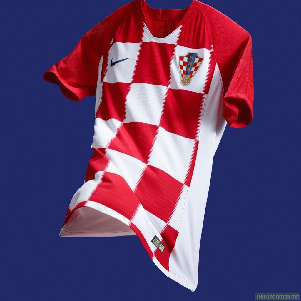 Croatia reveals new kits for WC