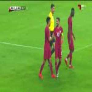Fantastic long shot goal by Akram Afif. Qatar [2] Iraq 1.