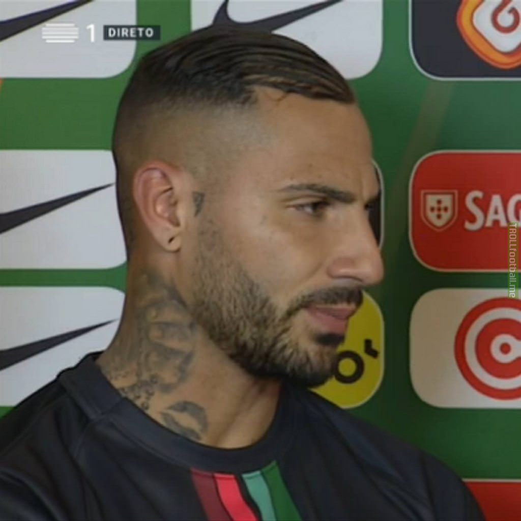 Did Quaresma Remove His Teardrop Tattoos Troll Football