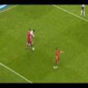 CR7 1st Touch + Skill vs Egypt