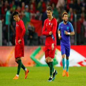 Portugal's loss today to the Netherlands was their 1st loss in regulation time in a year. Since 3-2 friendly loss at Sweden on March 28, 2017, they had been on a 14 match unbeaten streak with 11 wins, 3 draws (knocked out in Confederation Cup semifinals by Chile on penalties after 0-0 draw).