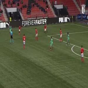 Andre Horta goal Portugal [2]-2 Switzerland | Euro U21 Qualifying
