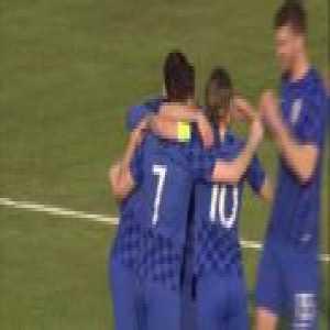 Croatia U21 [3]-0 Moldova U21 — Nikola Vlašić screamer 49'